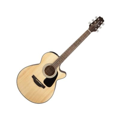 Takamine GF30CE NAT FXC Cutaway Acoustic/ Electric Guitar, Natural