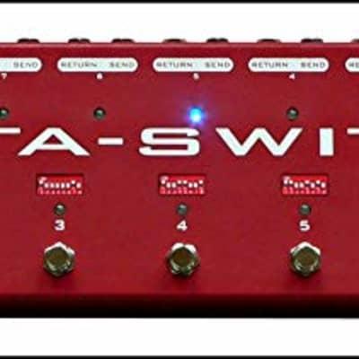 Carl Martin Octa-Switch MK2 Multi-Effects Looper Guitar Pedal