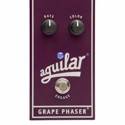 Aguilar Grape Bass Phaser Pedal for sale