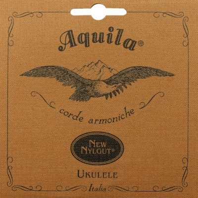 Aquila 4U Soprano Ukulele All Nylgut Strings Set With Regular G