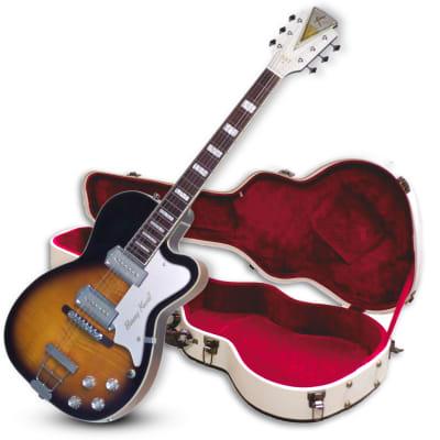 "Kay Reissue Barney Kessel Gold ""K"" Signature Series Pro K1700V - Tobacco Sunburst - Guitar With Case"