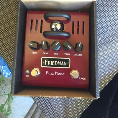 Friedman Fuzz Fiend tube distortion and overdrive. With original box and adapter for sale