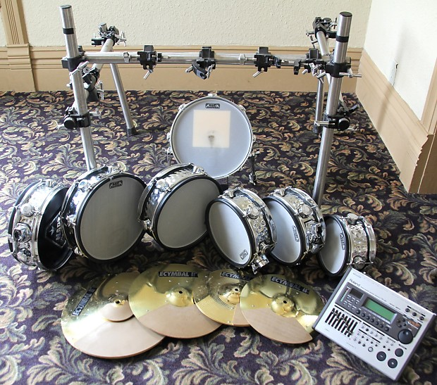 used hart dynamics pro 6 4 hh te3 electronic drum kit reverb. Black Bedroom Furniture Sets. Home Design Ideas