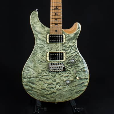 Paul Reed Smith PRS Limited Edition SE Custom 24 Roasted Maple Trampas Green 2019 for sale