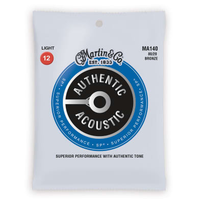 Martin Authentic Acoustic SP Strings - 80/20 Bronze Light