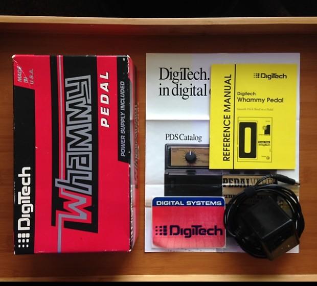 Digitech Whammy Pedal Original Wh1 Wh 1 Reverb