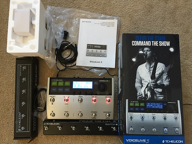 tc helicon voicelive 3 switch 6 accessories original reverb. Black Bedroom Furniture Sets. Home Design Ideas