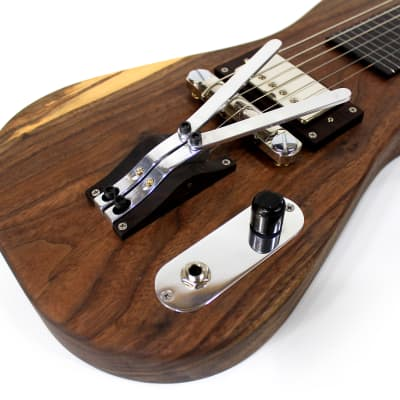 Peters palm lever lap steel (pedal steel sound) multibender | boutique handmade slide guitar | custo for sale