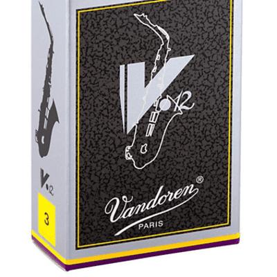 Vandoren V12 Alto Saxophone Reeds Strength 3 (Box of 10)