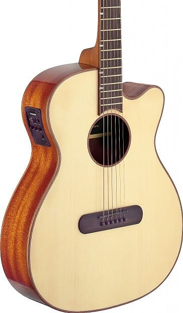 J.N Guitars LIS-MJCFI Electro Acoustic Guitar Solid Spruce Top SALE!