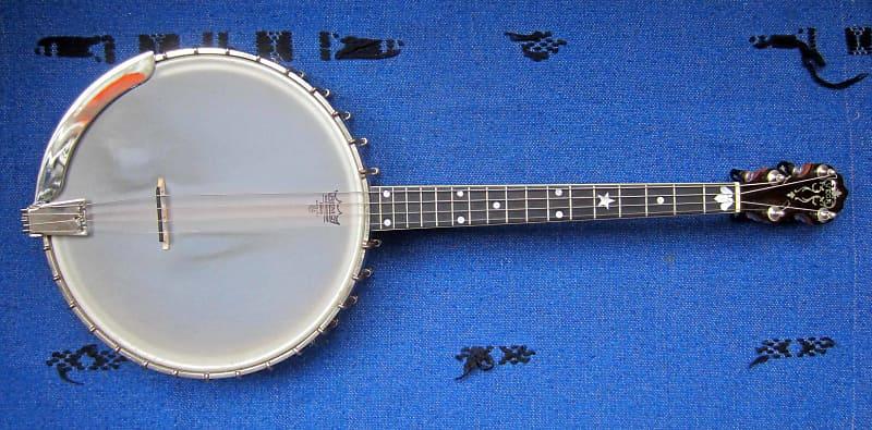 Vega Tenor Banjo , Style M, Tubaphone, short scale, large pot 1927