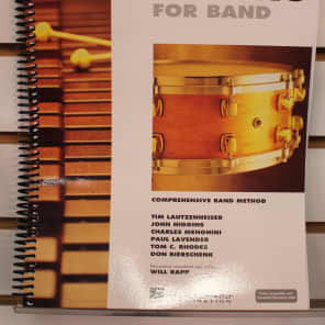 Hal Leonard Essential Elements for Band - Book 2 with EEi: Percussion/Keyboard Percussion