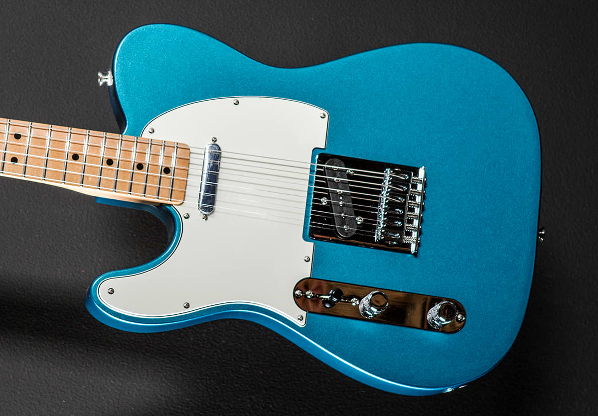fender standard telecaster left hand lake placid blue reverb. Black Bedroom Furniture Sets. Home Design Ideas