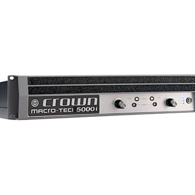 Crown MA-5000i Macro-Tech MA5000i MA5000 5000 Power Amplifier Amp (Open Box) for sale