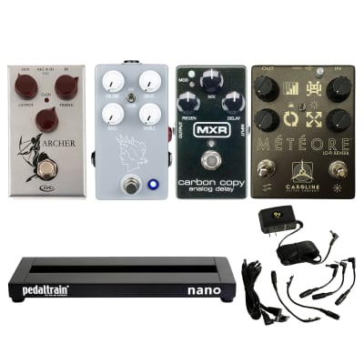 Shelby Pollard's Loaded Pedalboard W/FREE Power Supply image