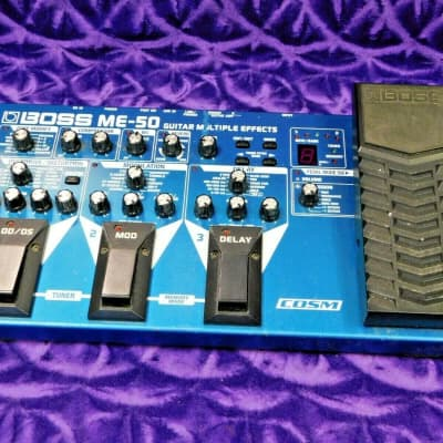 Boss me 50 Guitar Multi Effects Pedal!