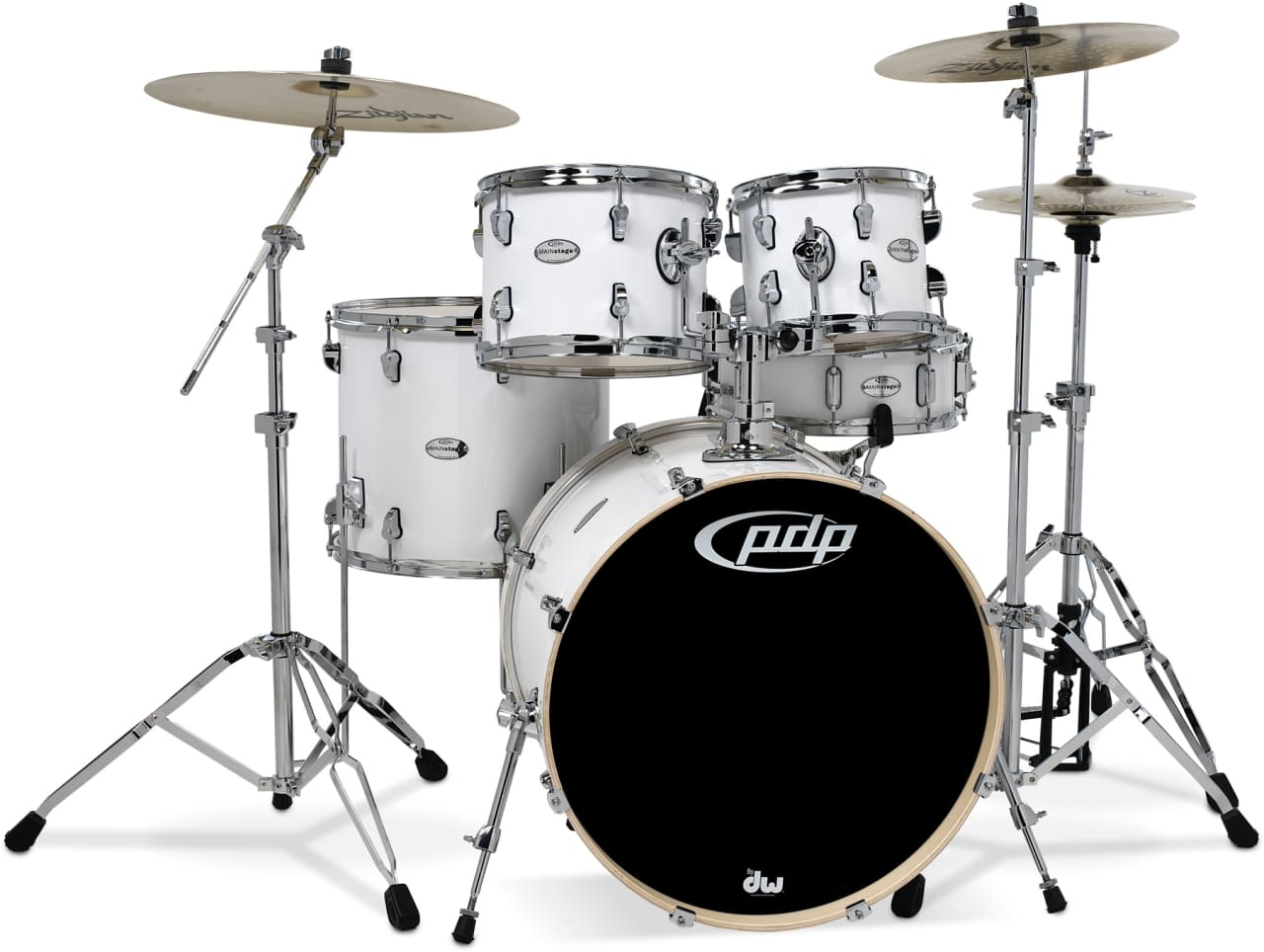 Pdp Mainstage Series 5 Piece Drum Set With Hardware Reverb