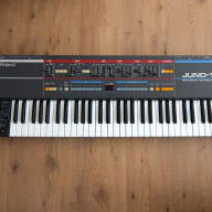 Roland Juno 106 + New Voicechips / Full Service / Warranty