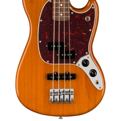 NEW Fender Player Mustang Bass PJ - Aged Natural (357) for sale
