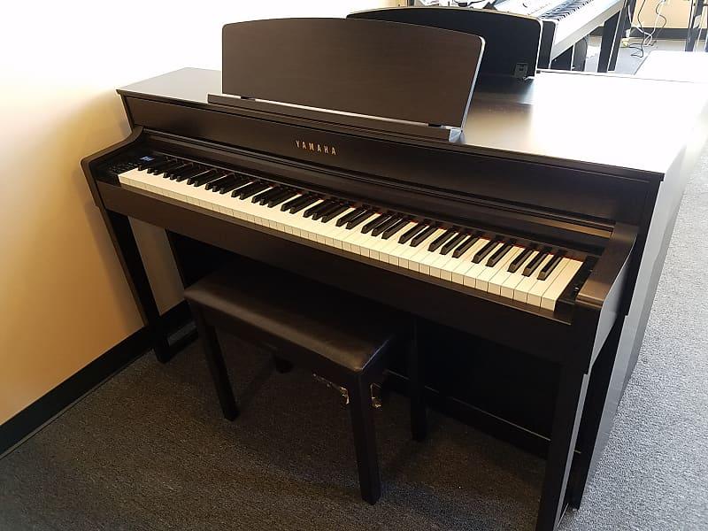 yamaha clavinova clp 575 digital piano clp575 w bench mfg. Black Bedroom Furniture Sets. Home Design Ideas