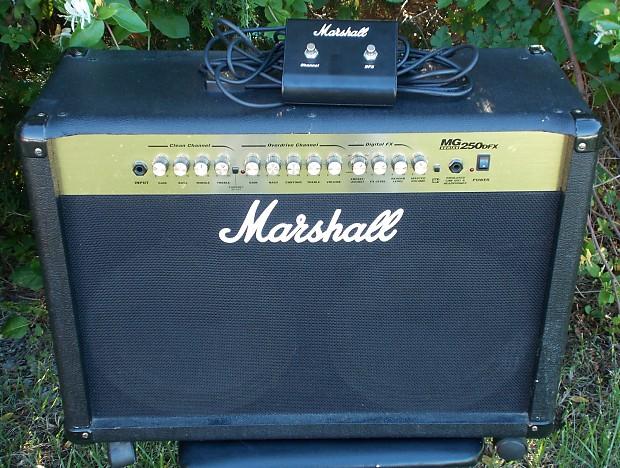 Marshall Mg 250 Dfx Guitar Amplifier