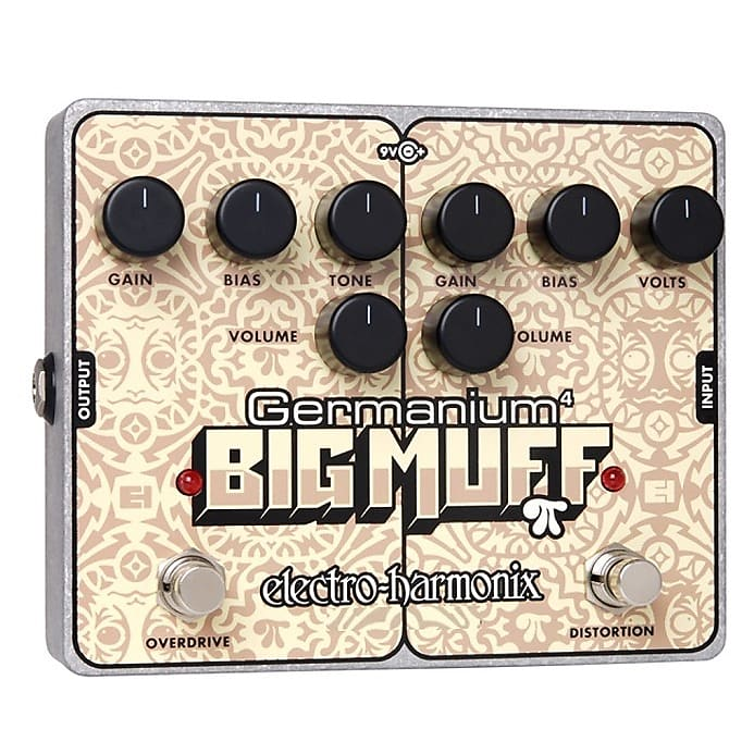 Electro-Harmonix EHX Germanium 4 Big Muff Pi Distortion / Overdrive Pedal