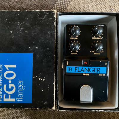 Pearl FG-01 Flanger - Boxed for sale