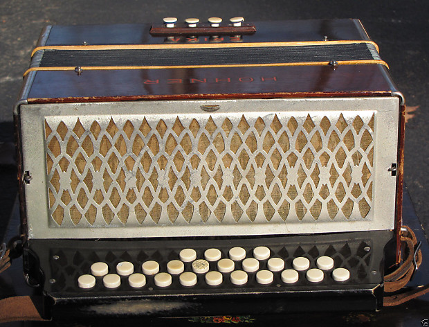 Hohner Erica Diatonic Button Accordion W Case Reverb