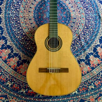 Michael Gurian Workshops Classical Guitar 1980 All Solid Cedar Mahogany Ebony Vintage and Rare USA for sale