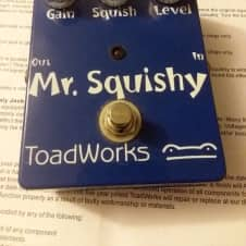 Toadworks Mr. Squishy mid-2000s Blue