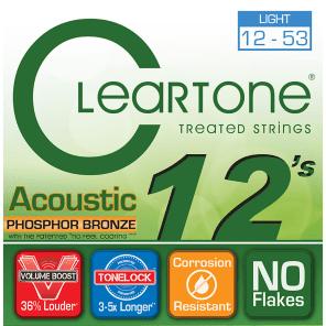 Cleartone Light Phosphor Bronze Acoustic Grand Strings