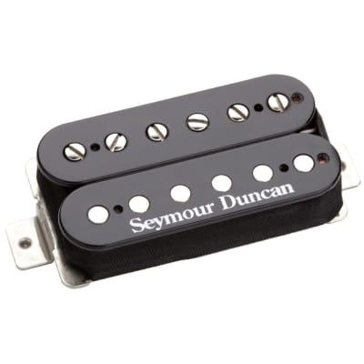 Seymour Duncan TB6 Duncan Distortion Trembucker Humbucker Electric Guitar Pickup, Black