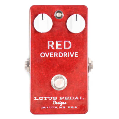 Lotus Pedal Designs Red Overdrive USED