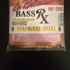 La Bella RX-S5D 5-String Stainless Steel Electric Bass Strings