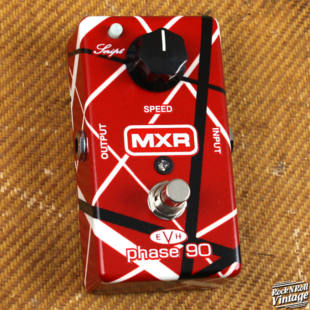mxr evh phase 90 rock n roll vintage reverb. Black Bedroom Furniture Sets. Home Design Ideas