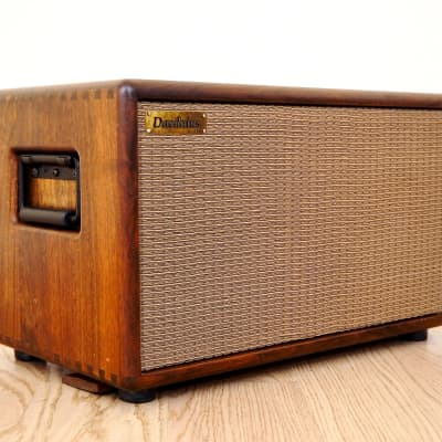 Daedalus S-81 Acoustic Instrument Compact Speaker Cabinet Walnut w/ Cover
