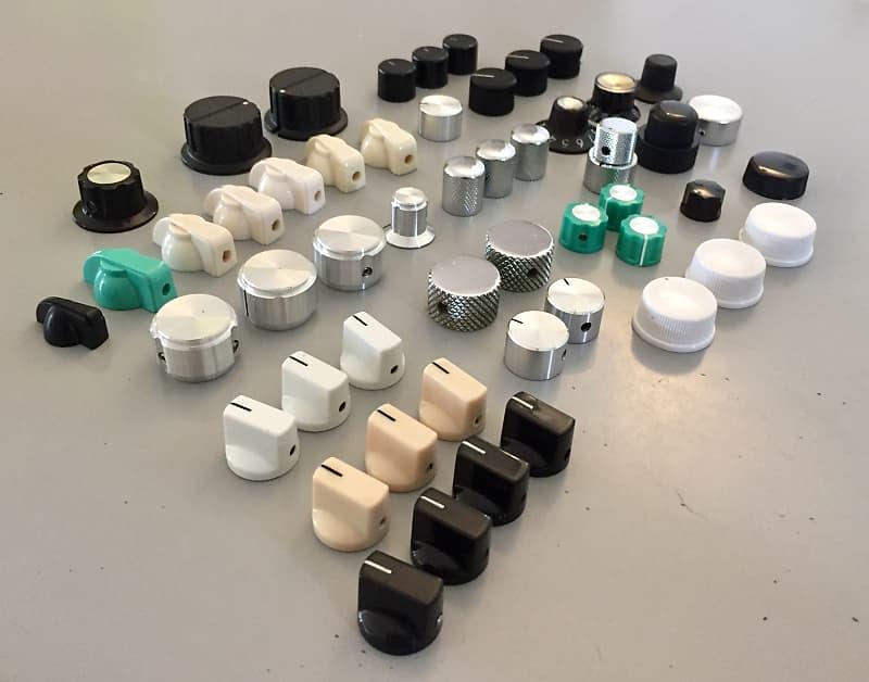 knobs guitar amp pedal lot of 52 knobs reverb. Black Bedroom Furniture Sets. Home Design Ideas