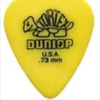 Dunlop Tortex Guitar Picks - .73mm - Yellow - 12 Pack image