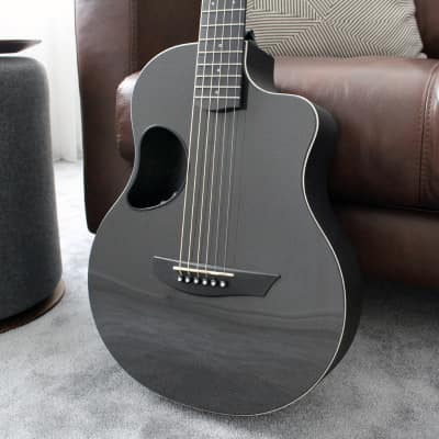 McPherson Touring Carbon Fiber Acoustic Guitar in White for sale