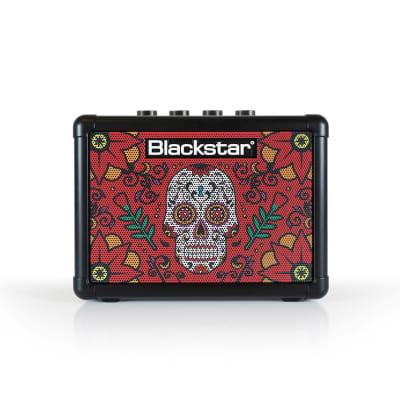 "Blackstar Fly 3 Sugar Skull Limited Edition 2-Channel 3-Watt 1x3""  Portable Guitar Amp"