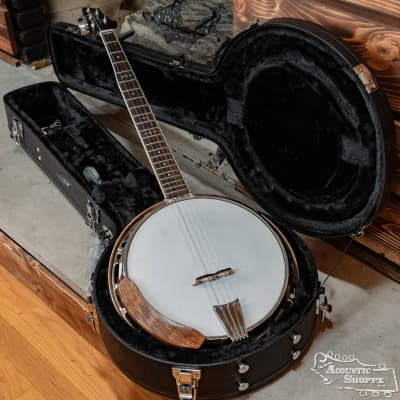 Nechville Photon - #2468 Tunneled 5th String, Mahogany Neck & Quilted Mahogany Resonator for sale