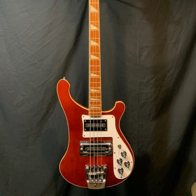 Rickenbacker 4001 Fretless Bass Guitar