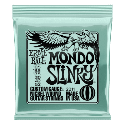 Ernie Ball Mondo Slinky Nickel Wound Electric Guitar Strings 10.5 - 52 Gauge