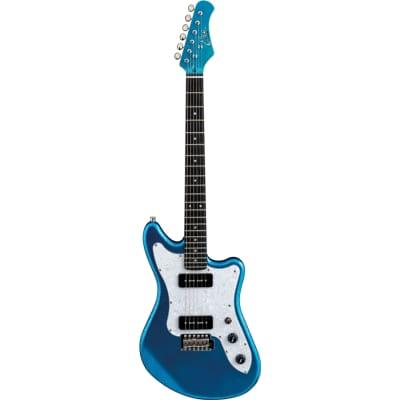 EKO Camaro VR 2-90 Blue Sparkle Electric Guitar for sale