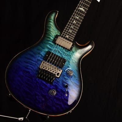NEW Paul Reed Smith Wood Library Custom 24 Floyd Brian's Limited Blue Fade Smokeburst! for sale