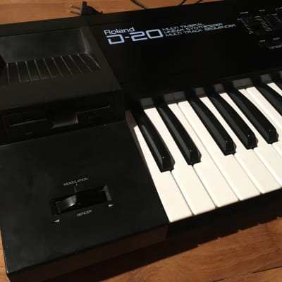 Roland D-20 D20 Multi Timbral Linear Synthesizer and Multitrack Sequencer