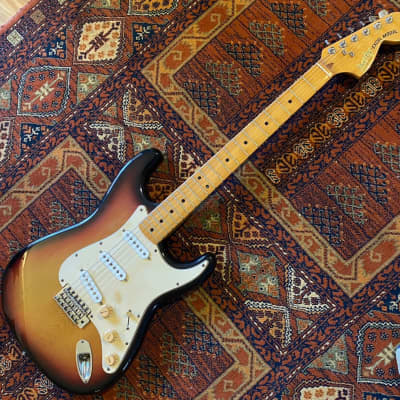 Heerby SE-500 Stratocaster 1977 Three Tone Sunburst for sale