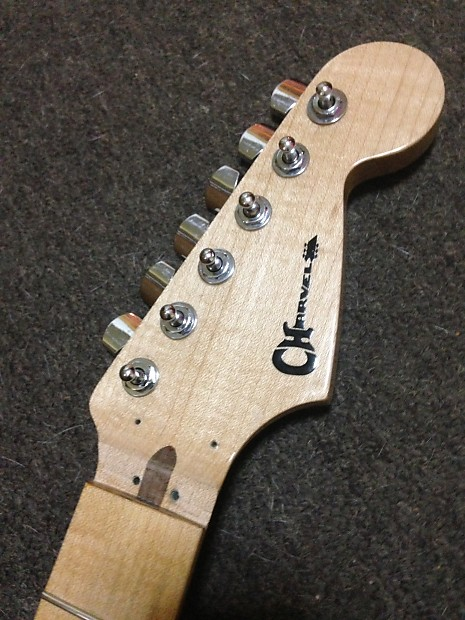 musikraft charvel neck guitar with machine head tuners maple reverb. Black Bedroom Furniture Sets. Home Design Ideas