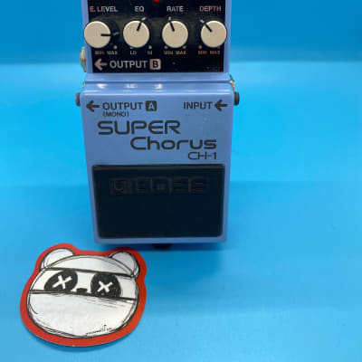 Boss CH-1 Super Chorus   Fast Shipping!   +Ninja Pedals Sticker