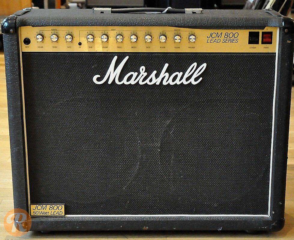 marshall jcm 800 lead series model 4212 50 watt master volume reverb. Black Bedroom Furniture Sets. Home Design Ideas